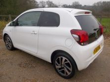 2014 PEUGEOT 108 ALLURE ALLURE Manual For Sale In Waterlooville, Hampshire