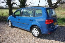2012 VOLKSWAGEN TOURAN S BLUE TECH TDI S TDI BLUEMOTION TECHNOLOGY Manual For Sale In Waterlooville, Hampshire