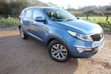 2014 KIA SPORTAGE 2 ISG CRDI CRDI 2 ISG Manual For Sale In Waterlooville, Hampshire