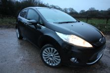 2009 FORD FIESTA TITANIUM 95 TITANIUM Manual For Sale In Waterlooville, Hampshire
