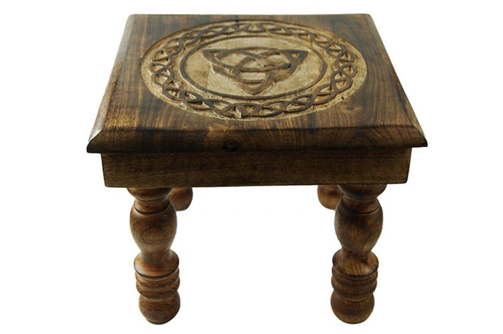 Triquetra Wooden Altar Table WAS £35.99