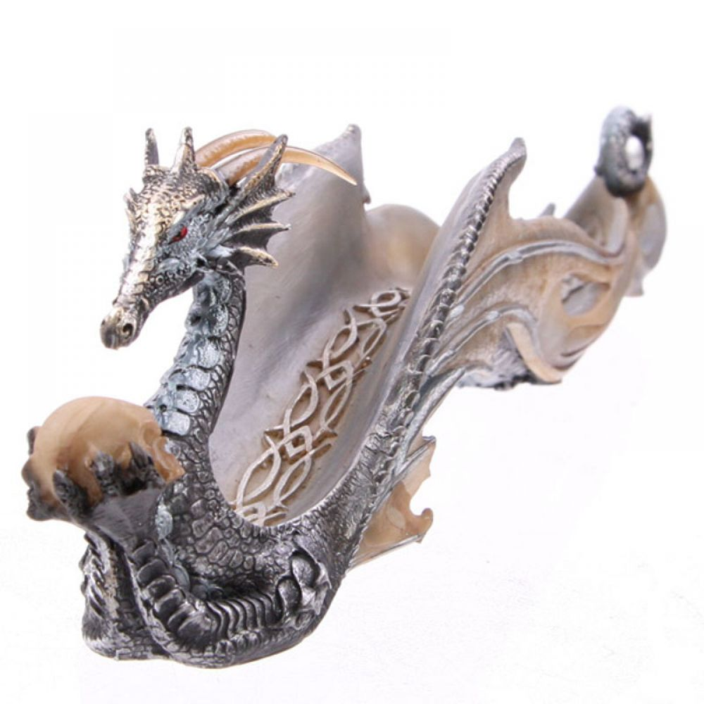 Shimmering Celtic Dragon Ashcatcher