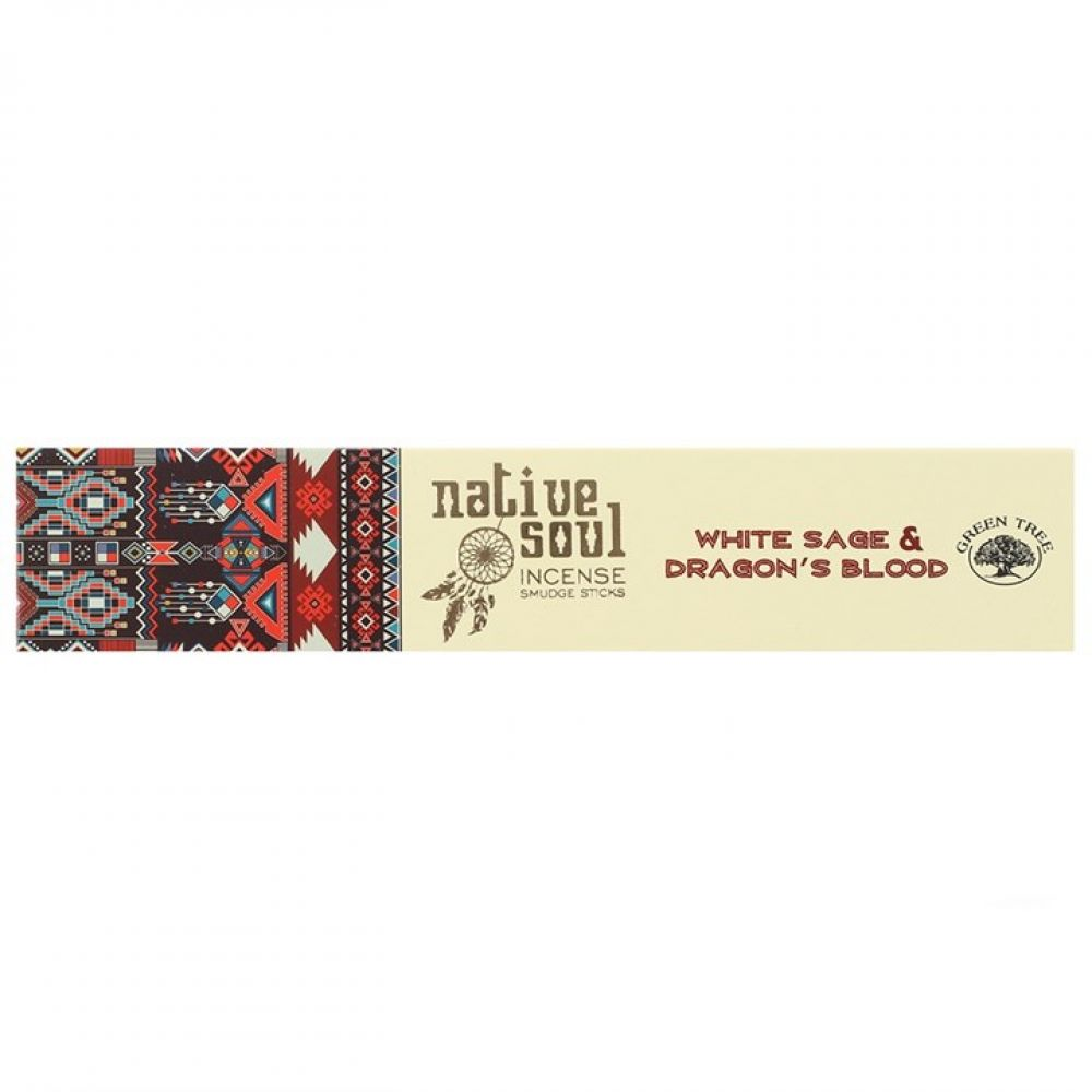 Native Soul White Sage & Dragons Blood Incense