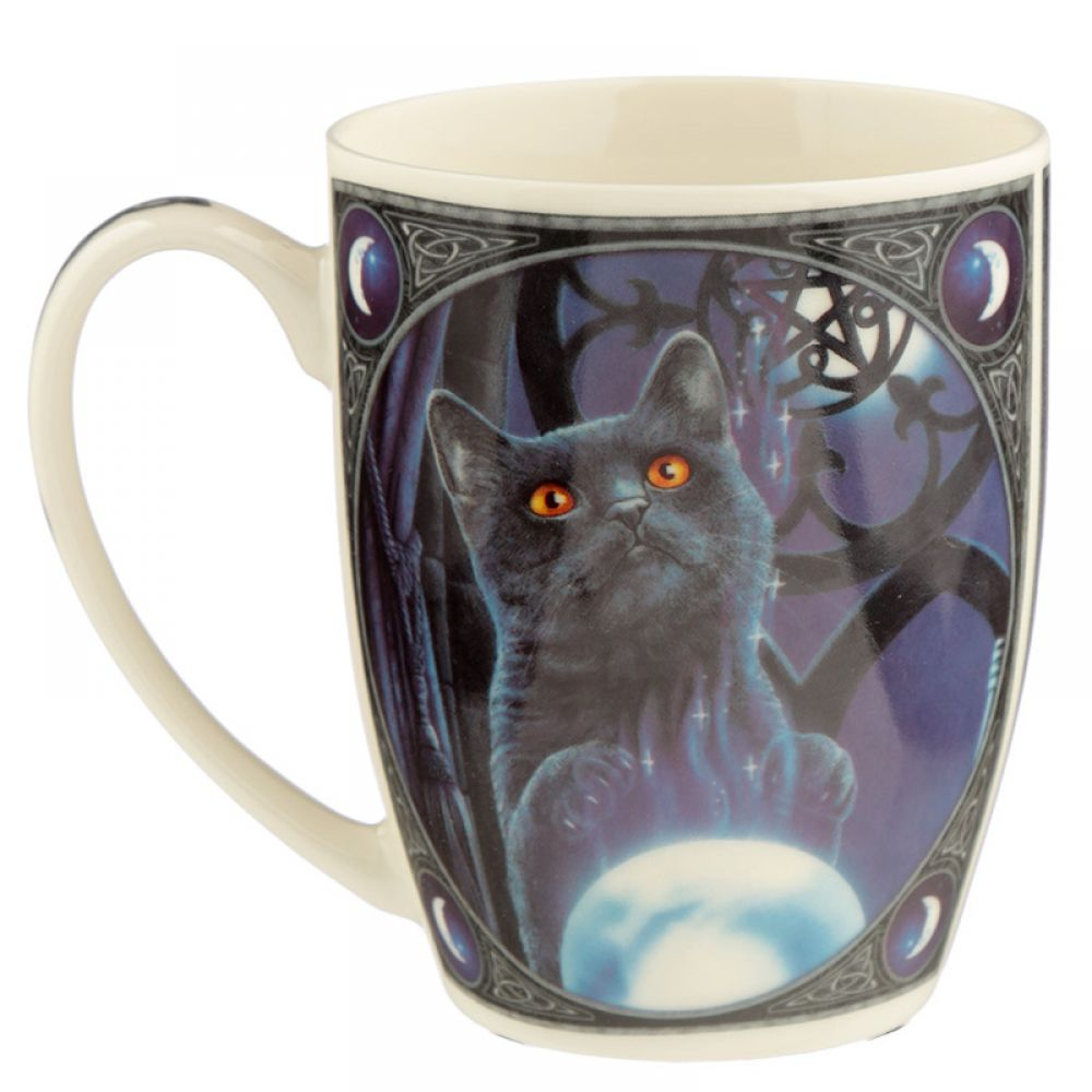 Witches Apprentice Bone China Mug by Lisa Parker