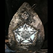 Art on Slate Celtic Pentacle