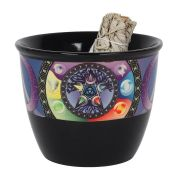 Large 13cm Pentacle Smudge Bowl