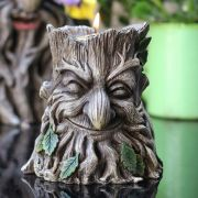 Green Man Tealight/Votive Candle Holder