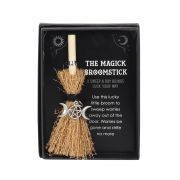 Triple Moon Mini Witches Broomstick